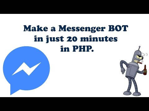 Tutorial Create A Facebook Messenger BOT In PHP