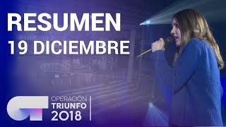 Resumen diario OT 2018   19 DICIEMBRE