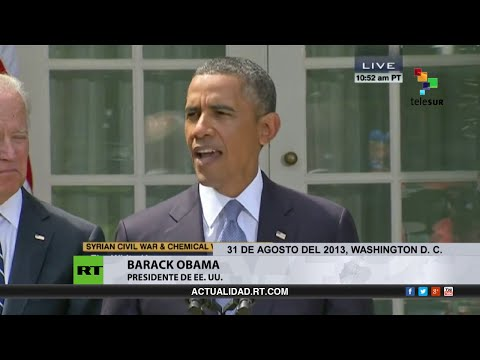 ¿Recuerda cuando querían exportar 'democracia' y 'libertad' a Siria en el 2013?