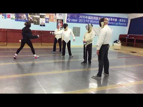 Fencing - Houston, Texas - Alliance Fencing Academy (Parry)