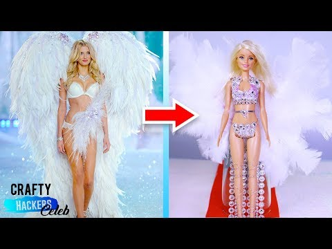 Victoria's Secret Barbie Fashion Show DIY | Gigi Hadid, Candice Swanepoel