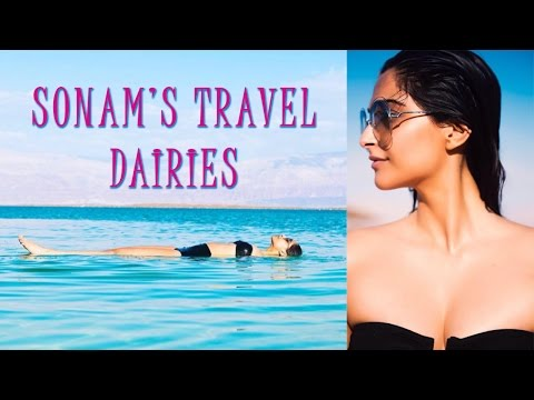 Sonam Kapoor Shows Her Sensual Side In A Revealing Black Bikini  Sonam Kapoor Turns The Heat In A Bl