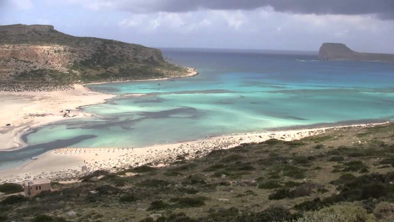 Souvent Lagon de Balos Crète 2012 - YouTube ZR24