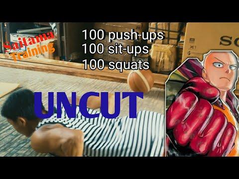 Saitama Workout Challenge - Saitama Challenge part 2 (UNCUT) - YouTube
