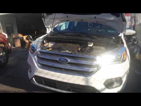 2012 to Current Ford Escape & Kuga Fuse Box & OBD2 Locations