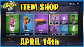 NEW Birdie Skin and Driver!   FORTNITE ITEM SHOP TODAY! (April 14th, 2019)