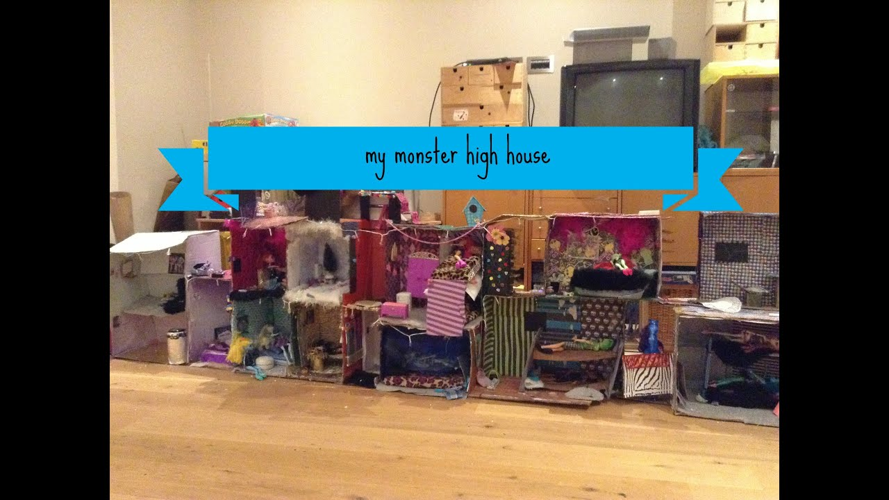 My Monster High House Tour