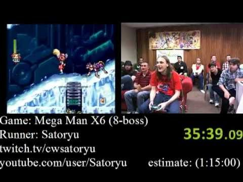 Mega Man X6 Speedrun (58:35) AGDQ 2012