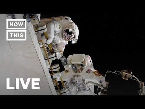 NASA Astronauts Go On Spacewalk to Upgrade the Space Station| NowThis
