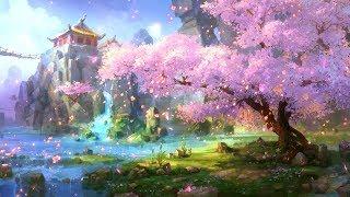 Beautiful Relaxing Music - Falling Blossoms, Sleep Music, Relaxing Music