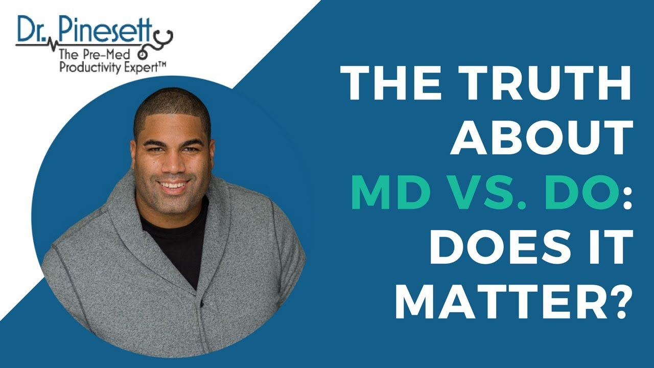 The Truth About Md Vs Do Does It Matter Youtube