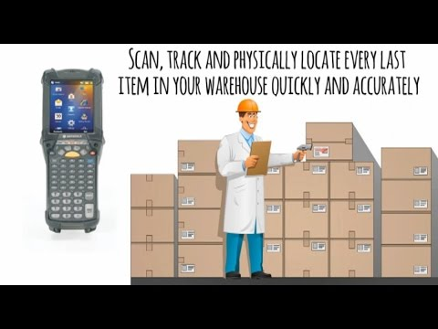 Zebra Mc9200 Warehouse Management Youtube