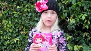Natalia reviews the Strawberry Shortcake: Puttin' on the Glitz DVD!