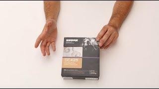 Unboxing Shure Auriculares Aislantes de Sonido SE425