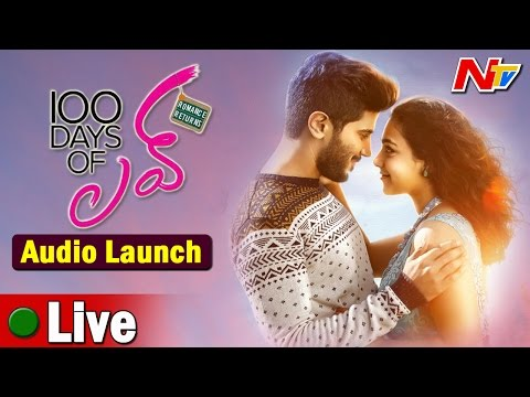 100 Days Of Love Audio Launch || Live || Dulquer Salmaan, Nithya Menen
