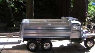 Truck and Pup Trailer