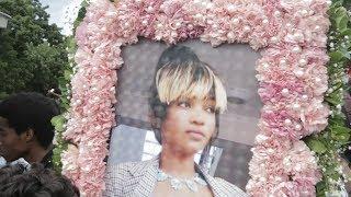 INASIKITISHA: Mwili Wa Agnes Masogange Ukiagwa Rest in peace