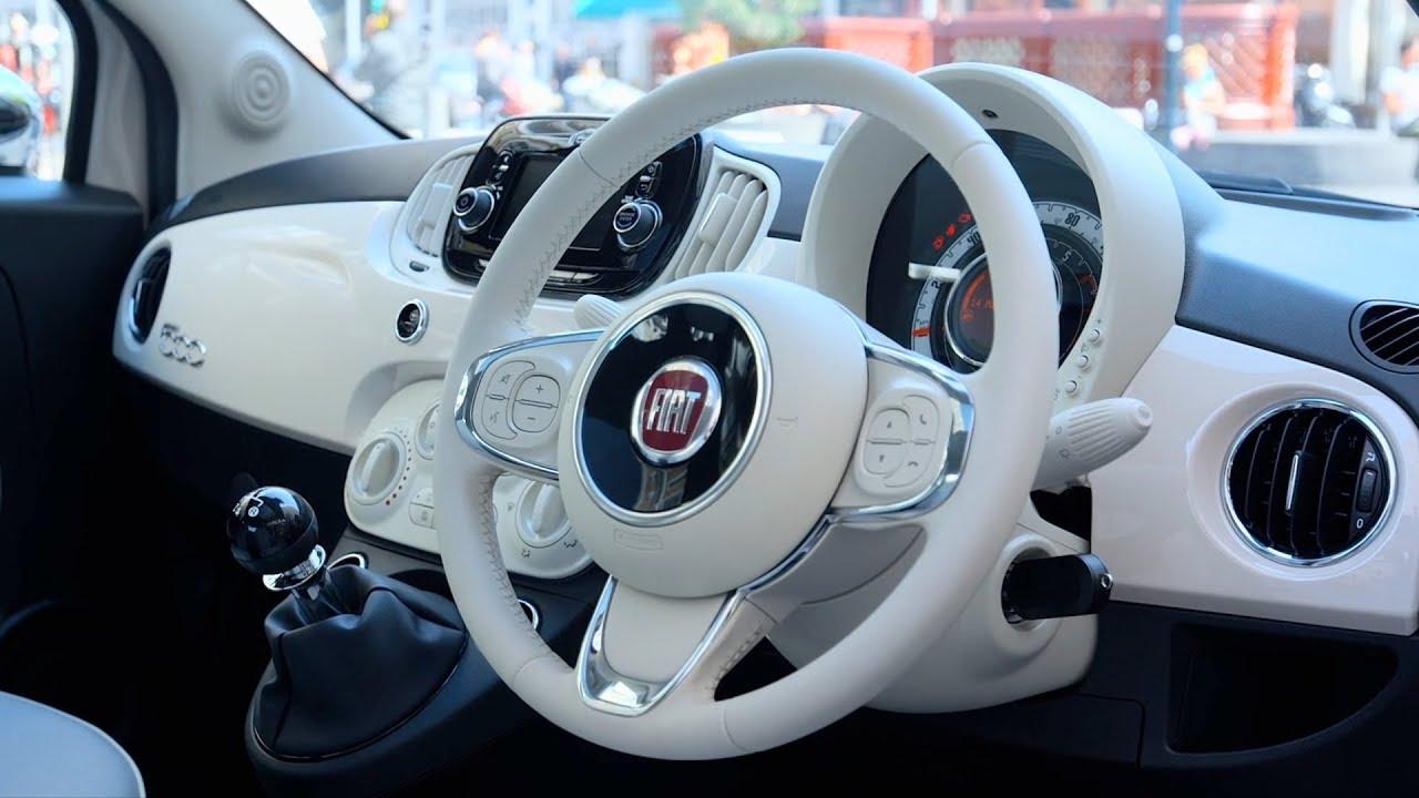 Magnifiek 2018 Fiat 500 Collezione - Interior (UK) - YouTube @HU56