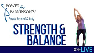 Power for Parkinson's Monday Strength & Balance - Live Streaming Day 176