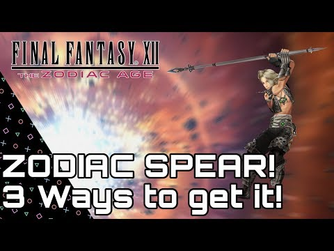 ff12 zodiac age zodiac spear chest