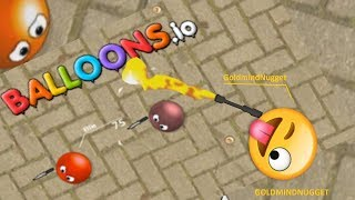 Balloons.io Gameplay | WORLD RECORD CHALLENGE |