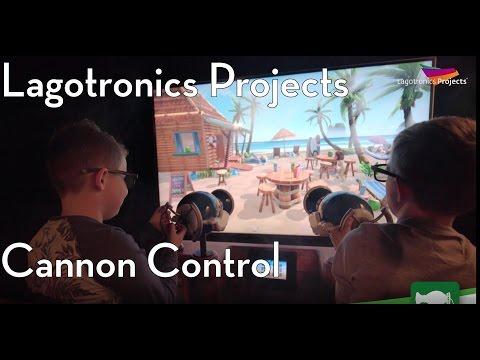 Multi-Media Attractions- Cannon Control Interactive Device, Lagotronics Projects