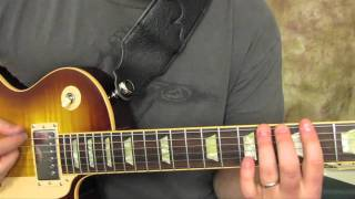 Michael Jackson - Smooth Criminal - How to Play on Guitar - gibson les paul
