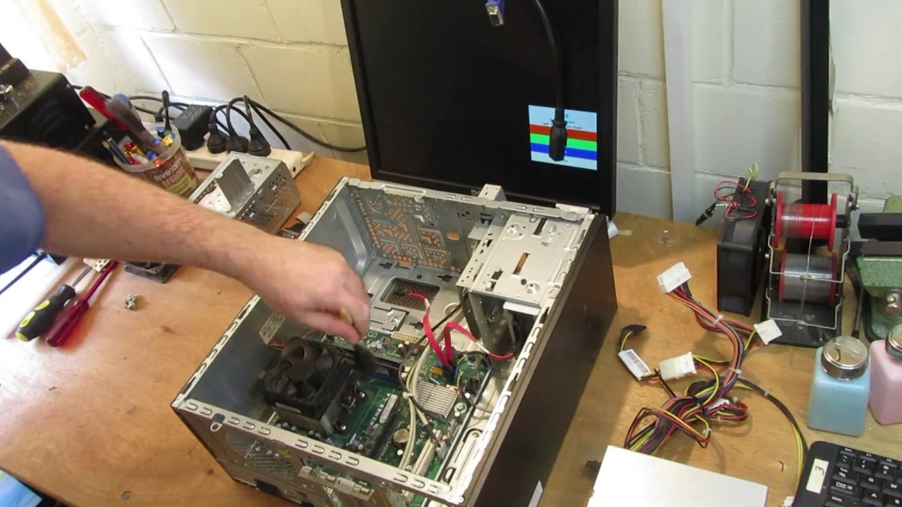 what i fix daily - compaq/hp cq3000 with no space & poor running