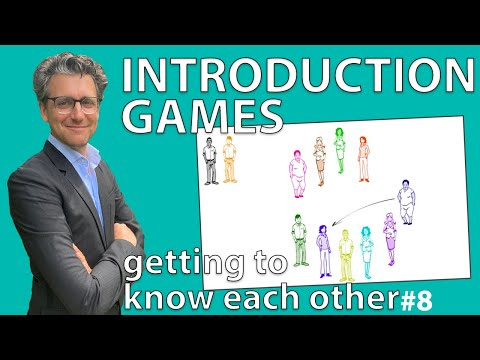 Introduction Games - Getting to know each other #Exercise 8