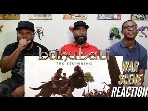 Bahubali: the Beginning War Scene Reaction