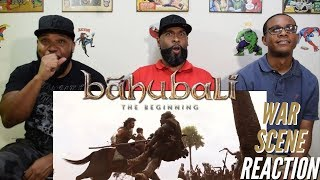 Bahubali: the Beginning War Scene Reaction