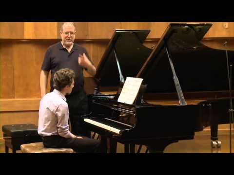 Masterclass with Garrick Ohlsson (Netanel Grinshtein, piano)