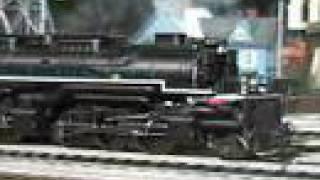 mth premier c allegheny 2 6 6 6 o gauge steam locomotive