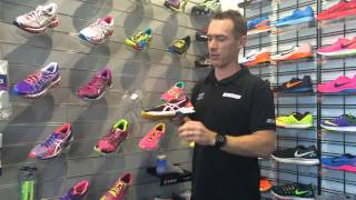 Shoe selection for metatarsalgia type foot pains