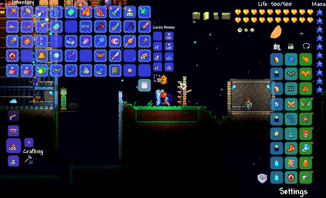 sc 1 st  YouTube & Terraria: How to make a one way door. - YouTube