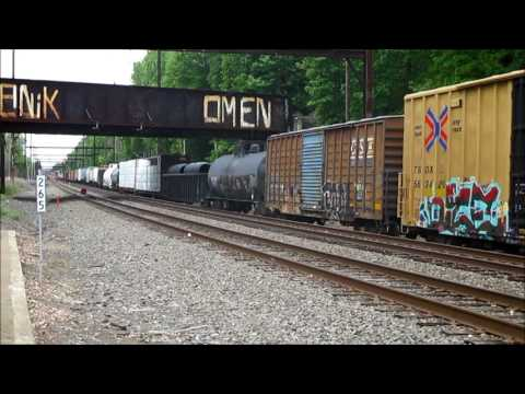 Double Railfanning at Hamilton and WoodBourne Station