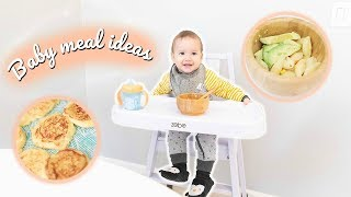 What My Healthy 9 Month Old Baby Eats in a Day | Meal Ideas for Babies