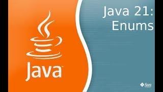Урок по Java 21: Enums - перечесления