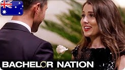 Sam Hands Heather The Coveted White Rose | The Bachelor Australia
