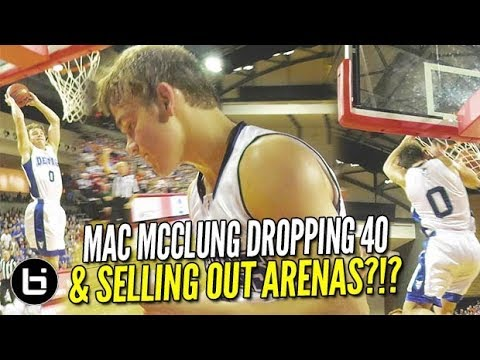 Mac McClung Challenge: Can YOU Hold Mac Under 40?? HINT** You cannot.