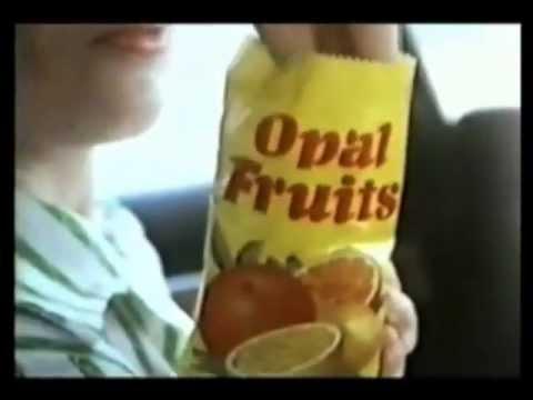 Opal Fruits Ad 1974