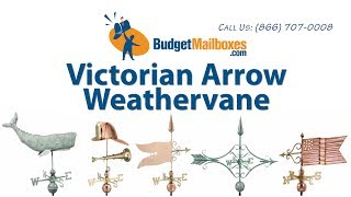 Budgetmailboxes.com | Good Directions 9642p Victorian Arrow Weathervane - Polished Copper