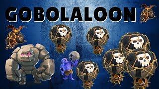 GoBoLaLoon Ataque de 3 Estrelas Cv9 - Seja TOP em Seus Ataques | Clash of Clans