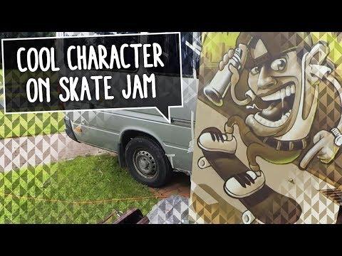 GRAFFITI CHARAKTER | Smoe paints a canvas