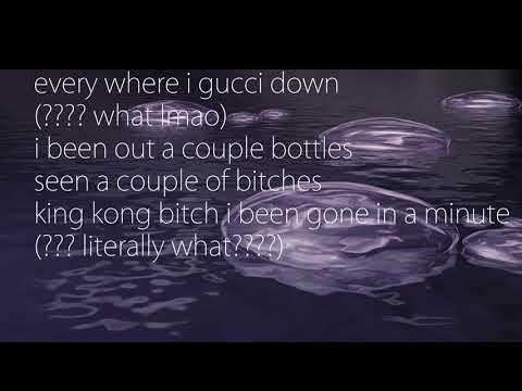 lil xan - the man (ft. $teven cannon) lyrics