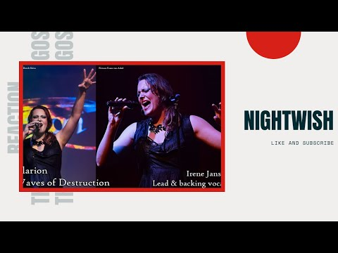 Nightwish - Alone (Heart Cover) Floor Jansen Reaction Video