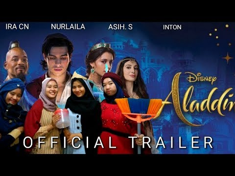 New Trailer Movie Aladdin (2019). Low Budget Version!