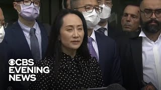 Huawei executive released from Canada as two Canadians are freed from Chinese jail