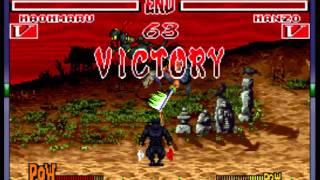 Samurai Shodown - Samurai Shodown (SNES / Super Nintendo) - Vizzed.com GamePlay - User video