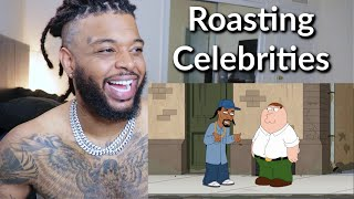 Family Guy Roasting Every Celebrity | Reaction